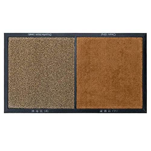 Sahoga Alfombrilla, alfombras absorbentes de Agua, felpudos, Alfombrilla Antideslizante para la eliminación de Polvo, Almohadillas para pies de Limpieza para el hogar, restaurantes y hospitales