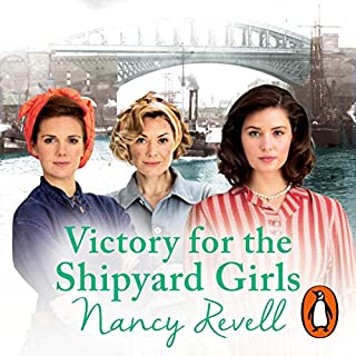 Victory for the Shipyard Girls audiobook cover art