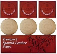 Geo F Trumper Spanish Leather Hand Soaps (3x75g)