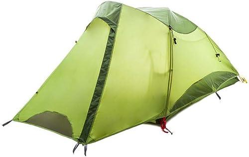 Kaxima Double-couche anti-pluie tente campante alpin tiède