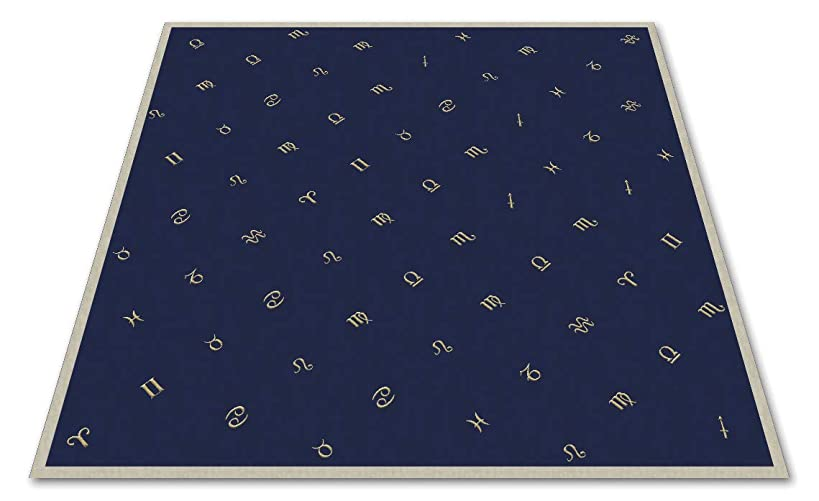 Astrology Embroidered Tarot Cloth