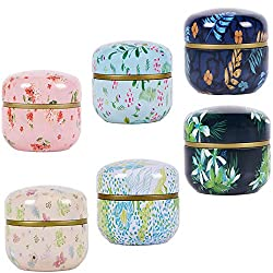 Han Sheng 6-piece Mini Tea Storage Containers