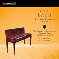 C.P.E. Bach: Solo Keyboard Music, Vol. 31 by Miklos Spanyi