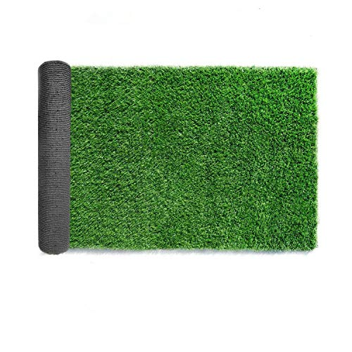 LITA Premium Synthetic Artificial Grass Turf 10mm Pile Height, High Density...