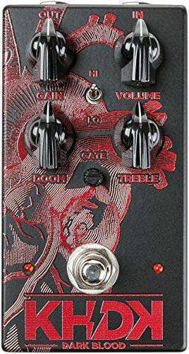 KHDK Dark Blood Distortion Effects Pedal