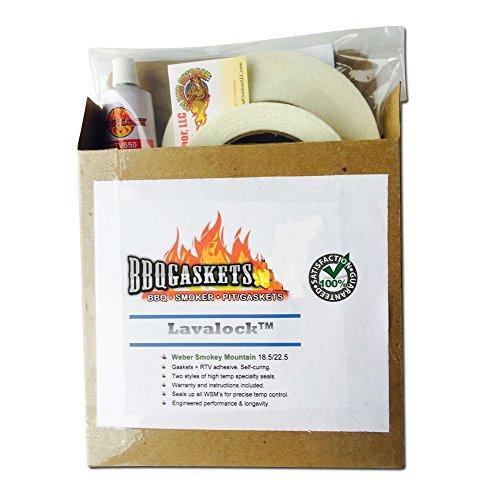 LavaLock Gasket Kit for Weber Smokey Mountain
