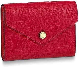 Louis Vuitton Victorine Wallet Monogram Empreinte Leather M63701 Scarlet