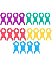 EXCEART 20 Piezas Herramientas de Bobinado de Placa de Placa Placa de Bobina para Almacenamiento de Costura de Bordado Artesanal DIY (Colores Surtidos)