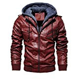 Amoyl Herren Männer Winter Camouflage Bluse Verdickung Mantel Outwear Top Bluse Plus Size, Leather...