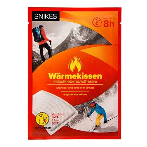 SNIKES 10er Set Rücken Wärmepflaster als Thermopflaster Wärmepads - Wärme Pflaster ideal für Hals, Nacken, Rücken, Schultern und gegen Regelschmerzen - Wärmekissen als Rückenpflaster
