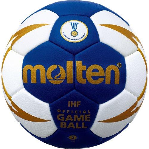 molten Handball, Blau/Weiß/Gold, 2, H2X5001-BW-X