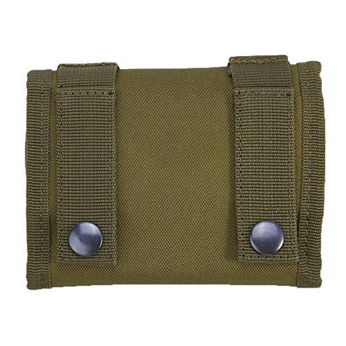 DAUERHAFT Soporte de munición de Nailon Estuche de Soporte de Bala Duradero 11.02 * 5.1 Pulgadas(Armygreen)