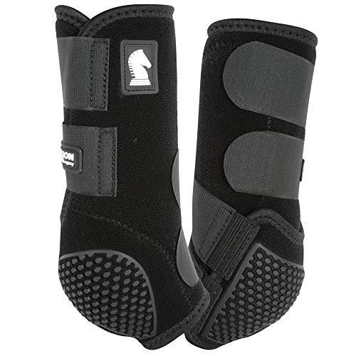 CLASSIC Equine Flexion Front Boots Medium Black