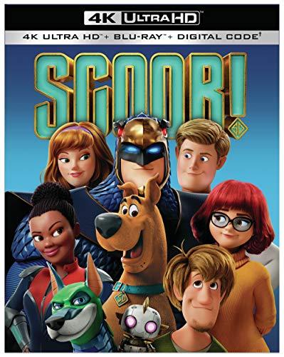 SCOOB! (4K Ultra HD + Blu-ray + Digital Code)