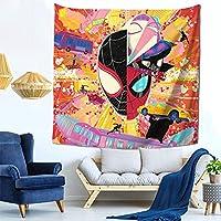 Spider-Man アベンジャーズ-スパイダーマン タタペストリー多機能ファブリック装飾用品おしゃれ モダンなアート 模様替え 部屋 窓カーテン 個性ギフト 150x150cm