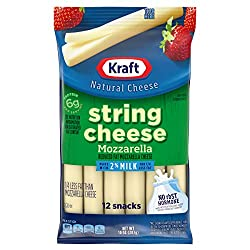 Kraft Reduced Fat Mozzarella String Cheese (12 Count)