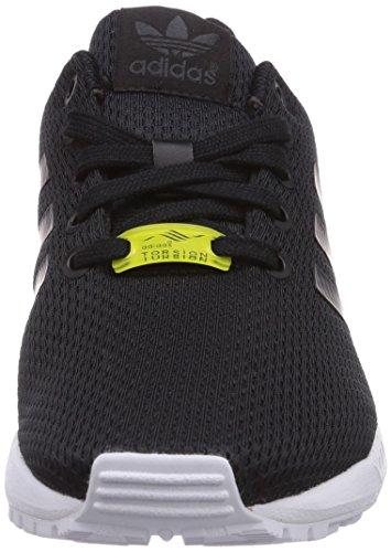 Adidas Zx Flux - Zapatillas para Bebés, Color Negro (Negro/Negro/Ftwr Blanco), Talla 38.6666666666667