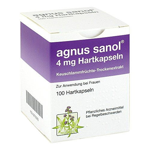 AGNUS SANOL Hartkapseln 100 St