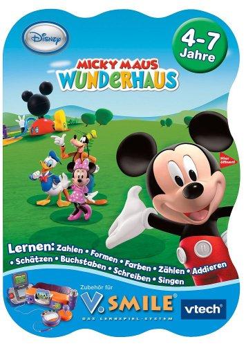 Vtech 80-092944 - V.Smile Lernspiel Micky Maus Wunderhaus