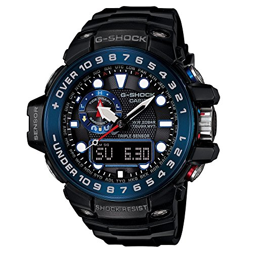 G-Shock GWN-1000B Master of G Series Stylish Watch - Black / One Size