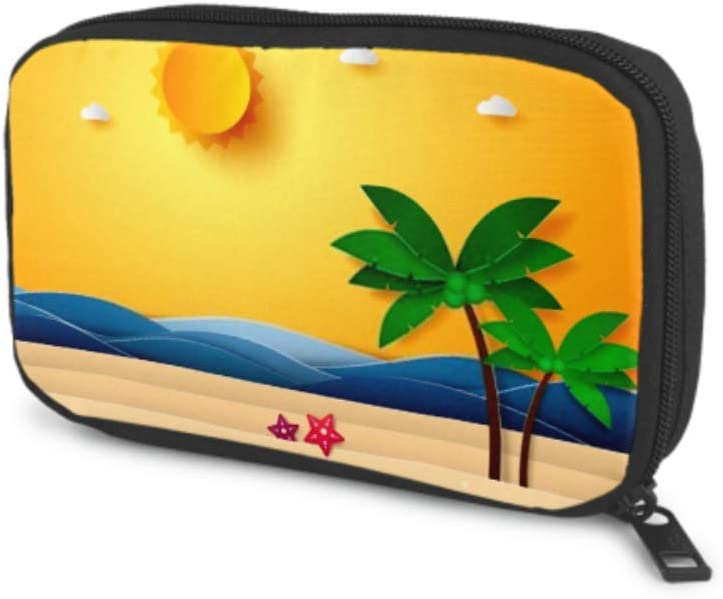 Electronics Accessories Organizer Bag Summer Beach Time Sea New sales 40% OFF Cheap Sale Coco