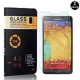 Bear Village® Galaxy Note 3 Vetro Temperato, HD Trasparente, Nessuna Bolla, Anti-Impronte...