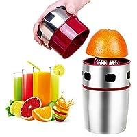 Lukasa Manual Portable Stainless Steel Hand Orange Juicer