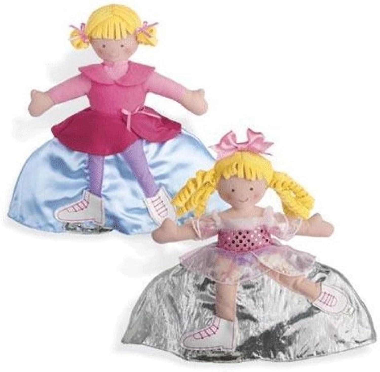 Disfruta de un 50% de descuento. North American American American Bear Company Topsy Turvy Dolls - Skating Practice and Competition by North American Bear  entrega de rayos