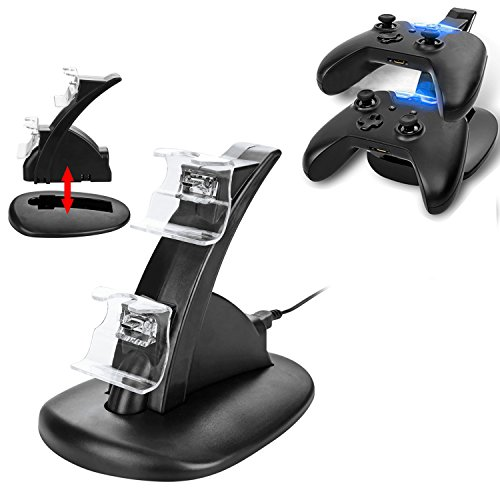 Sminiker Professional Xbox One Controller Charger Dual Dock Charger...