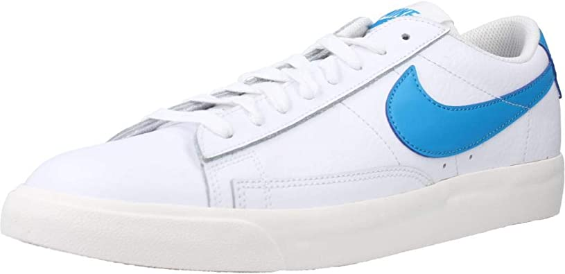 Nike Blazer Low Leather, Chaussure de Basketball Homme