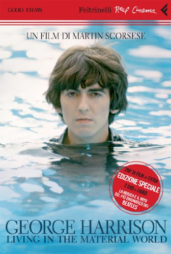 George Harrison: living in the material world. DVD. Con libro