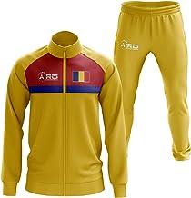 Airosportswear Roemenië Concept Voetbaltrainingspak (geel)