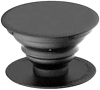 SOLDOUT™ Desktop Pop Socket Cell Phone Stand Swappable Expanding Stand Grip For Smartphones & Tablets (Black)