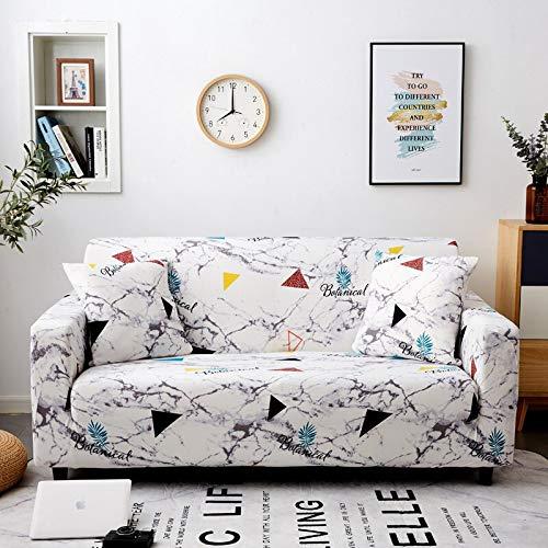 WXQY Funda de sofá elástica Impresa, Funda de sofá, Funda de sofá elástica con Todo Incluido, Utilizada para la Funda de protección de sofá de Esquina A5 4 plazas