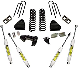 Superlift 2011-2016 Compatible with Ford F-250 F-350 Super Duty Lift Kit 4Wd Dsl with Sl Shocks 4'' K876