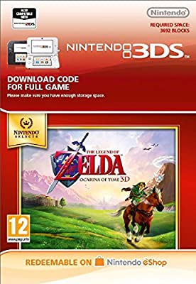 Nintendo Selects The Legend of Zelda: Ocarina of Time 3D [3DS Download Code]