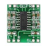5 unids Super Pequeña Placa de Amplificador de Potencia 3W + 3W Tipo D PAM8403 Amplificador de Audio Digital Módulo 2.5V-5.5V Doble Canal Alta Eficiencia 90% Alimentado por USB