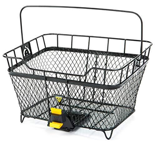 TOPEAK Fahrradkorb MTX Basket Rear, Schwarz, 15002080