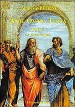 Ante Omnia Terra, tome 1 - La Théorique de Zéphyrin Bétom