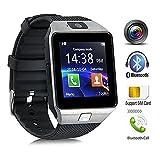 Bluetooth Reloj Inteligente, DXABLE SmartWatch con cámara, pantalla táctil desbloqueada Reloj...