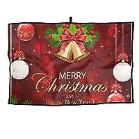 クリスマスボール ルフタオルア ウトドア活動ポータブル男性女性タオルスポーツタオル