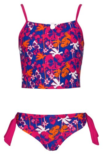 Olibia Mar - moderne meisjestankini met bloemenpatroon - Oeko-Tex® Standard 100