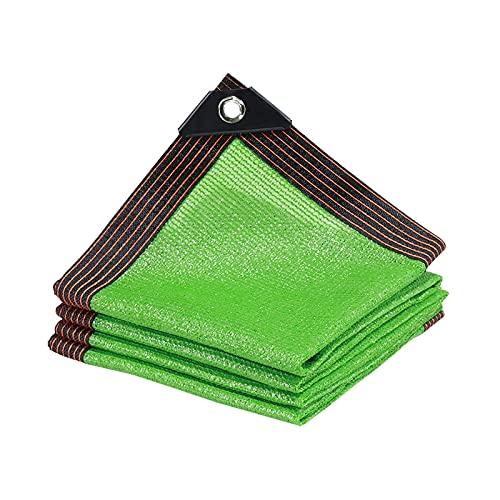 TYHZ Malla sombreo Sombra Verde Net Sun Protection Shade Paño Jardín Flores Planta Anti-UV Shaping Malla de sombreo (Color : Green, Size : 3x4m)