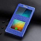 RZL Teléfono móvil Fundas para Xiaomi redmi 7 5 6 Plus Pro 4X 4A 5A, Lujo Frente Ventana de visualización de Cuero del Caso de FILP para Xiaomi Nota 7 6 5 8 9 Pro Mi SE F1 A2 Lite MAX 2 3