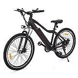 aceshin Bicicleta Eléctrica de Montaña, Shimano 21 velocidad, Aluminio, Batería de Litio 36V...