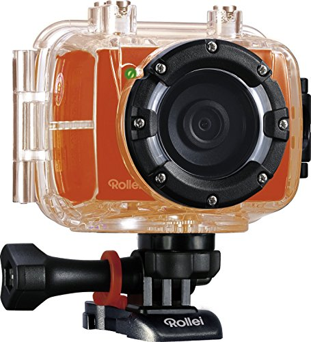 Rollei 40272 Actioncam 5S Summer Edition, Orange