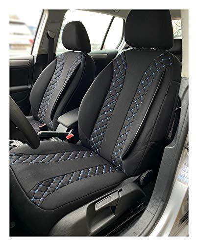 Fundas de asiento compatibles con Ssangyong Rodius 2 para conductor y copiloto, a partir de 2005 –