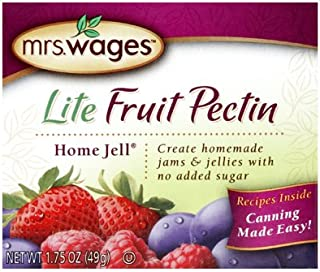 Mrs Wages W595-H3425 1.75 oz Lite Home Jell Fruit Pectin - Quantity 10