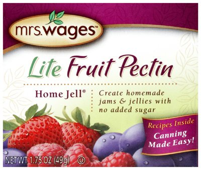 Mrs Wages W595-H3425 1.75 oz Lite Home Jell Fruit Pectin - Quant