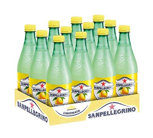 San Pellegrino SanPellegrino Limonade Zitrone PET Flasche, Einweg, 12 x 500 ml, 12er Pack (12 x 500 ml)
